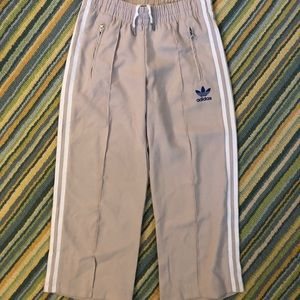 Women's Cropped Adidas Track Pants in size XS.